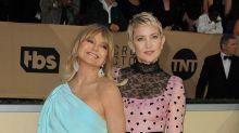 Kate Hudson tiene en su madre Goldie Hawn a su mejor referente