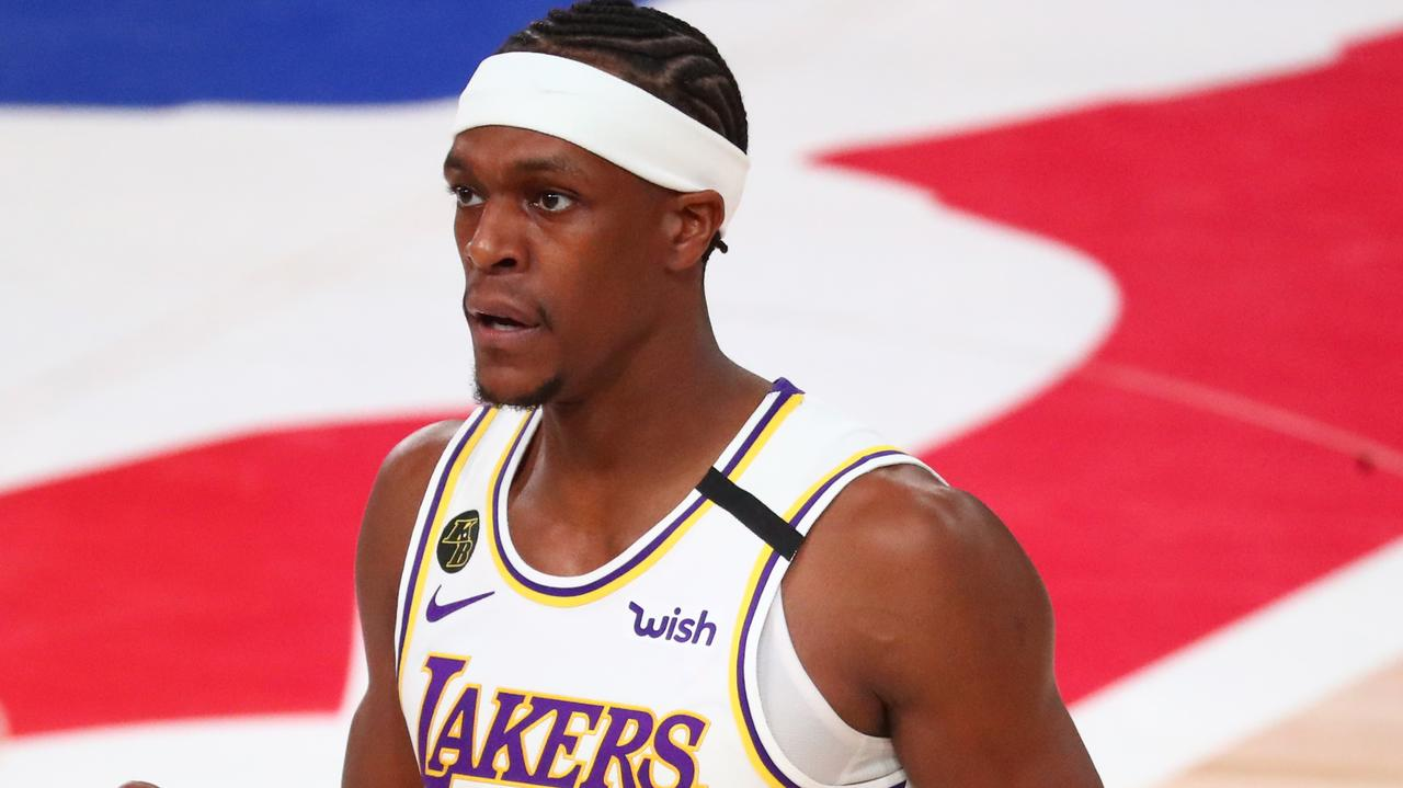 Ex-Celtic Rajon Rondo would rather forget Lakers' last NBA Finals appearance
