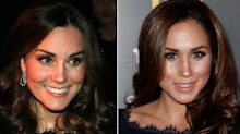 Modische Doppelgängerin: Herzogin Kate trägt das gleiche Kleid wie Meghan Markle