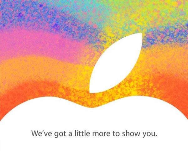 Apple nos invita a un 'evento especial' el 23 de octubre; síguelo en Engadget