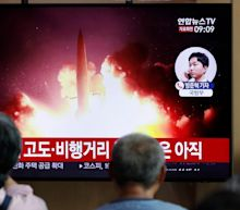 North Korea 'fires missiles off coast' and says talks with 'impudent' South are over