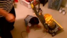 Toddler Has Adorable Tantrum When Her Parents Put The Vacuum Away