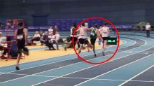 Controversy erupts over 'disgraceful' act in athletics event