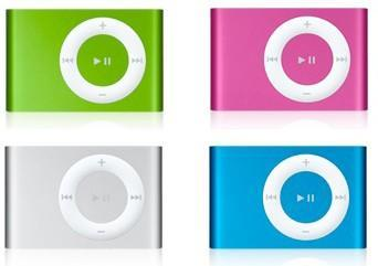 One more thing: New iPod shuffle colors