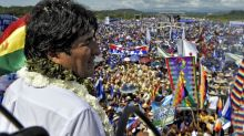 Bolivian president launches bid for reelection to fourth term