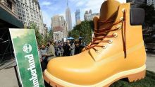 Why Timberland Dropped a Ginormous Replica Boot in the Middle of New York City