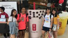 Singaporeans reunite with their favourite Gong Cha drinks