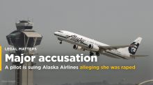 An Alaska Airlines pilot is suing the airline alleging another pilot drugged and raped her (ALK)