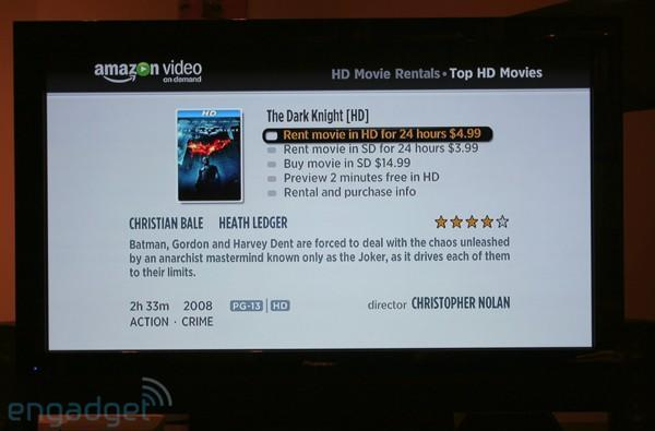 Amazon Video on Demand HD on Roku Video Player hands-on