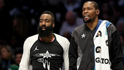 KD: Harden recruitment rumors made up stories