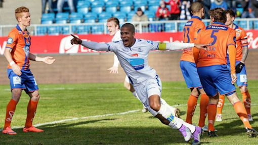 William Troost-Ekong scores in Haugesund's win