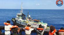 Humanitarian ship takes 27 migrants from Danish tanker