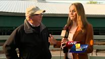Ava talks to Orb's trainer about race, intimidation factor