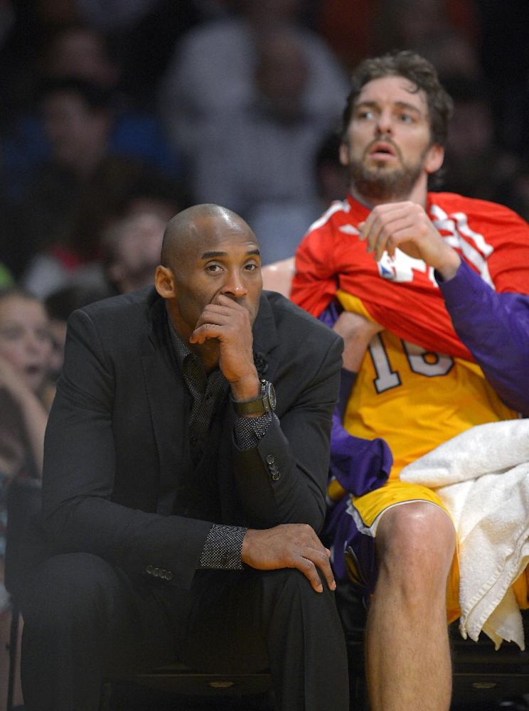 Kobe hopes fans don't choose him for All-Stars
