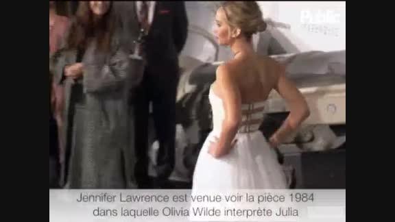Vidéo : Olivia Wilde : Très flattée que Jennifer Lawrence
