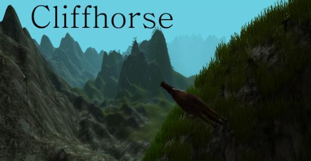 Notch launches Cliffhorse, a game about horses on cliffs