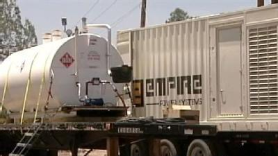 Wallow Fire Power Outage Impact