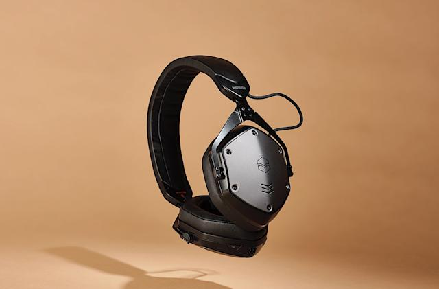 V-Moda's M-200 ANC are its first wireless noise-cancelling headphones