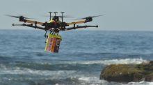 Shark-spotting drones on patrol at Australian beaches