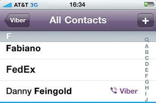 Viber VoIP iPhone app: 3G calling, no registration, and totally free