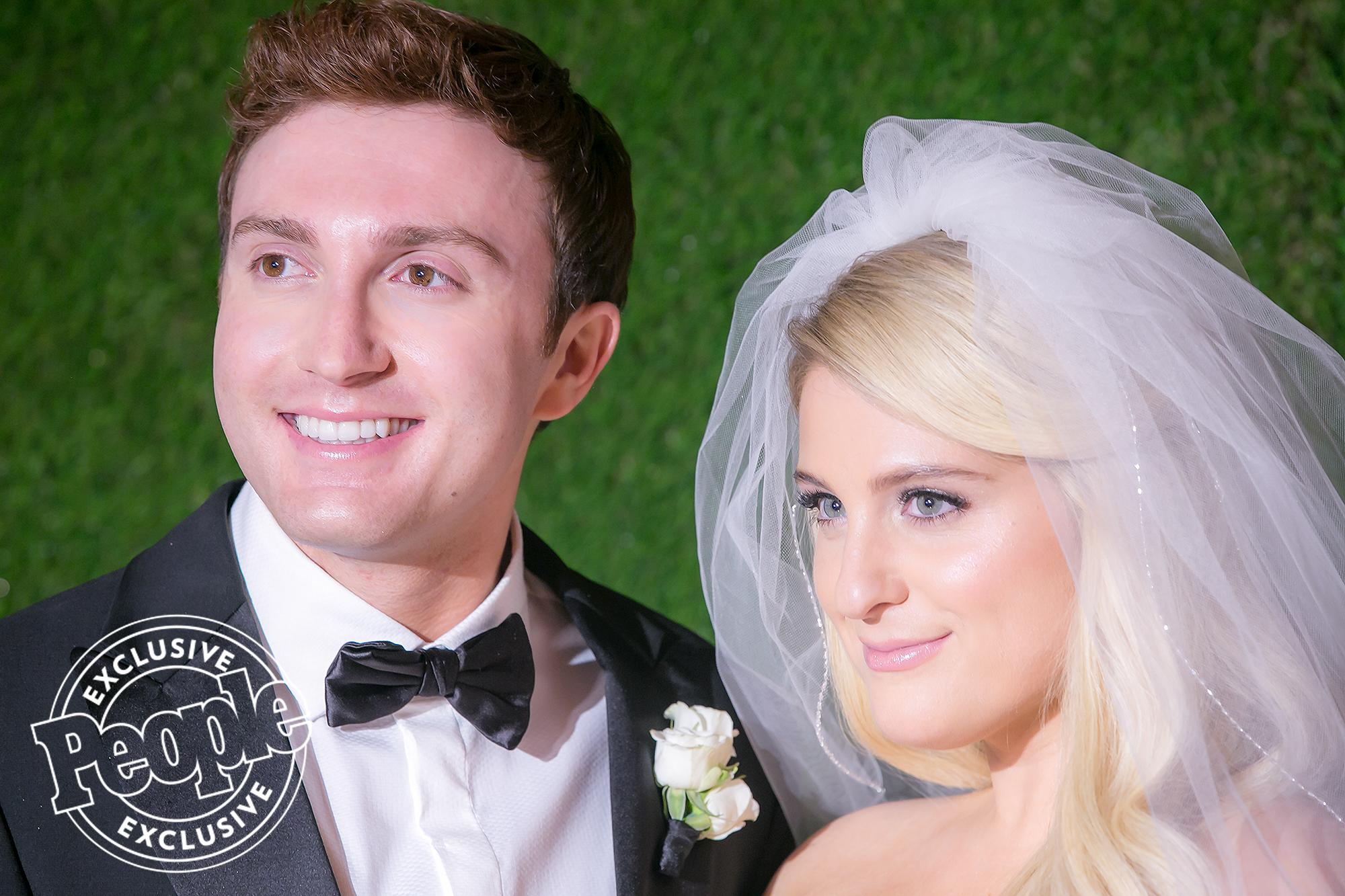 All the Details from Meghan Trainor and Daryl Sabara's 'Fairy-Tale' Wedding