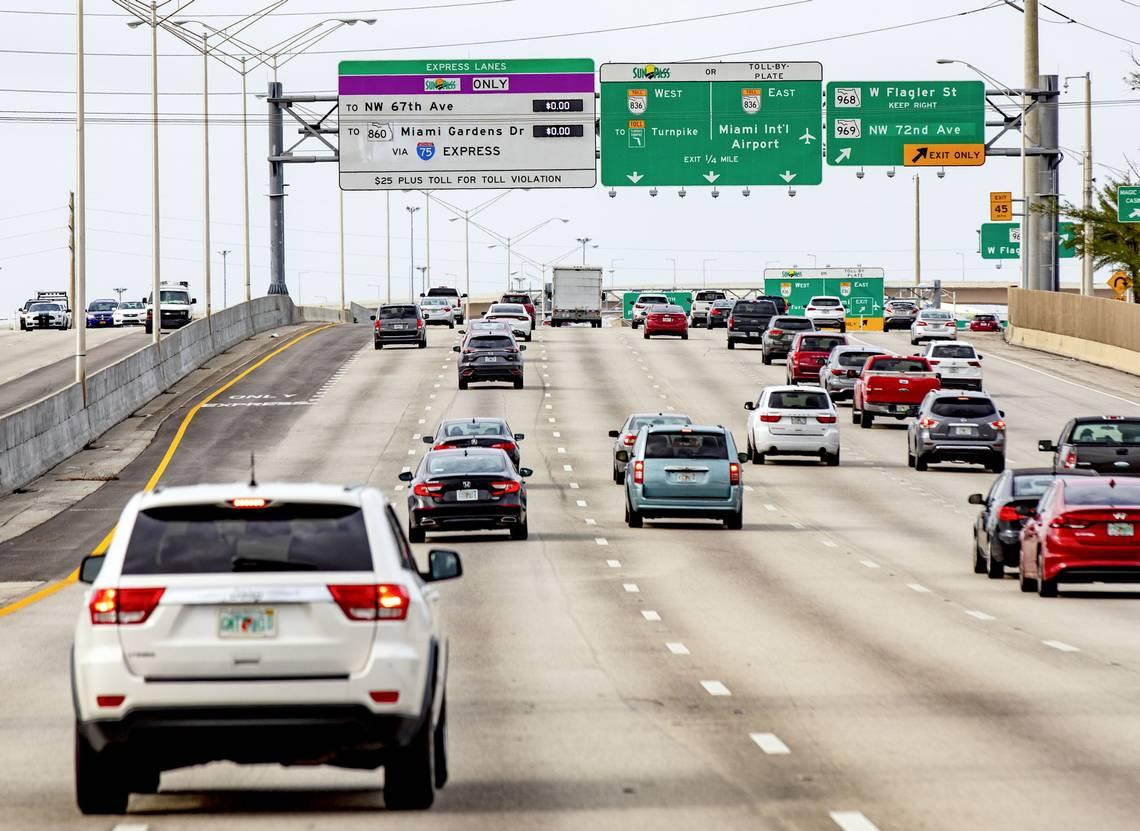 Since the pandemic began, fewer Floridians are on the road. The numbers prove it