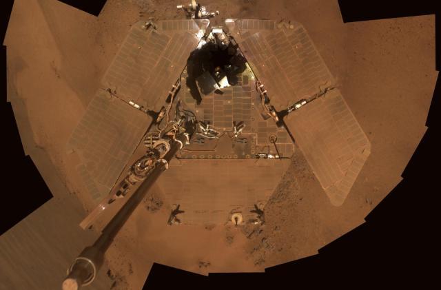 Opportunity rover stops responding during Mars dust storm