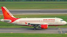 Air India air hostess falls off plane while closing door