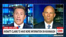 Michael Avenatti Warns Trump, Kavanaugh: 'Be Very, Very Careful' About What You Do Next