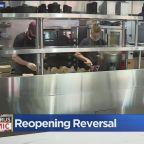 Sacramento Restaurants Ordered To Stop Indoor Dining