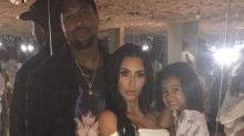 Kim Kardashian Celebrates KKW Beauty Launch With Kanye and North West in Rose-Covered Selfie Room: Pics!