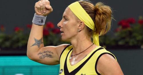 Tennis - WTA - Rome - Rome : Svetlana Kuznetsova attend Caroline Garcia en huitièmes de finale