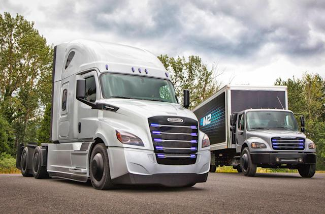 The future of Daimler trucking is electrified and autonomous