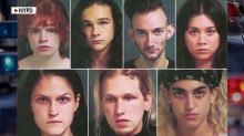 Mugshots of 'privileged' protesters released