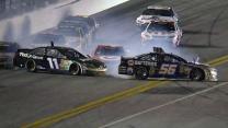 Truex Jr., Hamlin and Montoya spin off 4