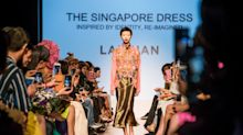 PHOTOS: LAICHAN opens Singapore Fashion Week with 'The Singapore Dress' and see-through qipaos