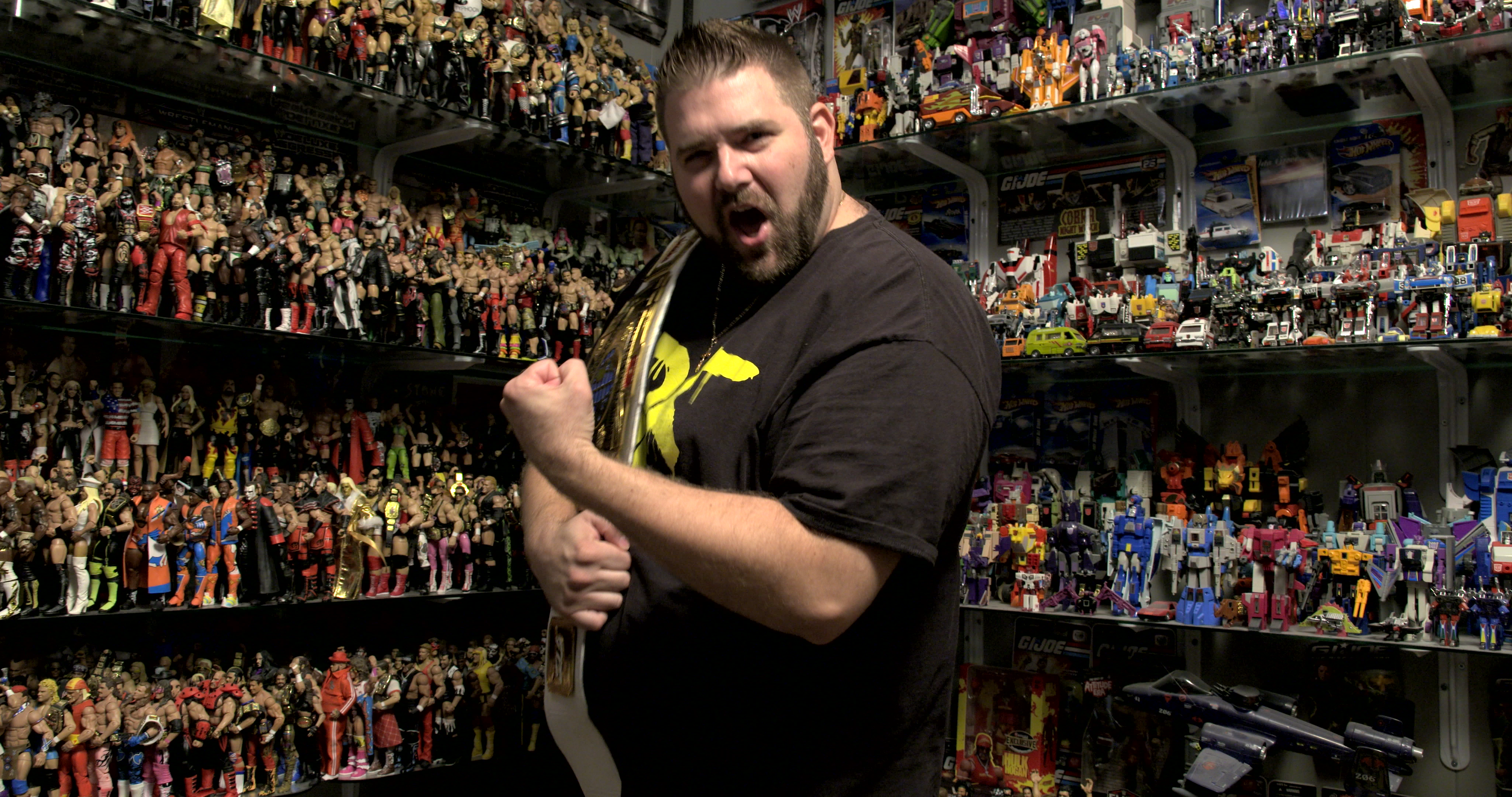 official photos 26d1f d07ba How a wrestling obsession made this man a YouTube star