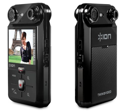 Ion Audio's Twin Video dual-facing camera becomes more than a render, starts shipping