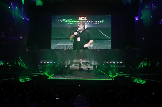 The newest 'Dota 2' shoutcaster is Valve boss Gabe Newell