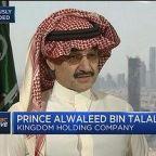 Prince Alwaleed Bin Talal: Tax reform baked in the market...
