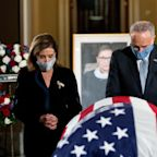 RBG 'must be turning over in her grave', says Chuck Schumer in caustic speech about Amy Coney Barrett