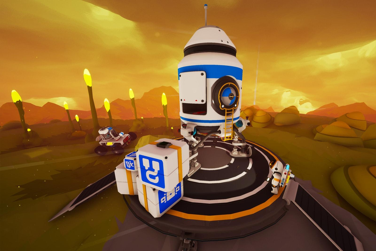 Planet-shaping survival game 'Astroneer' launches tomorrow   Engadget