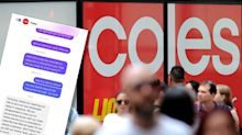 Self-isolating Coles customer forced to wait 5 days after delivery fail