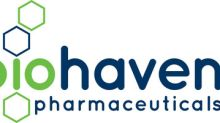 Biohaven Pharmaceuticals Reports Third Quarter 2019 Financial Results And Recent Business Developments