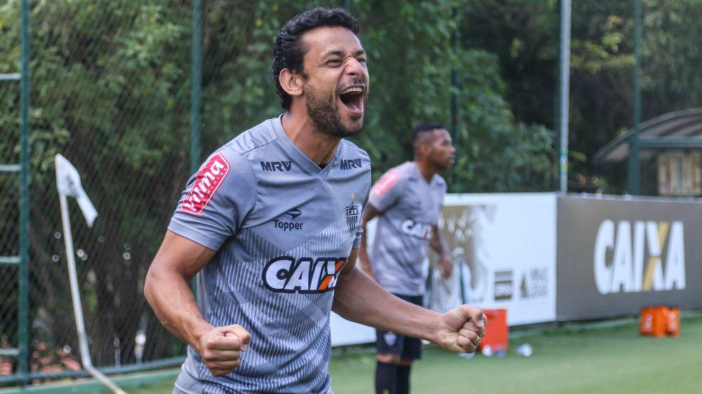 Fred treina e deve reforçar o Atlético-MG na Libertadores