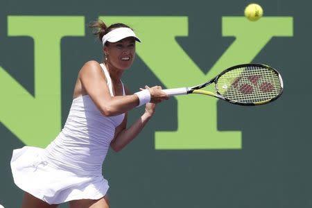 Tennis: Sony Open-Hingis and Lisicki v Black and Mizra