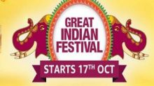 Amazon Great Indian Festival sale to kick off on 17 October: Best deals on OnePlus 8 5G, iPhone 11, Galaxy M31, more