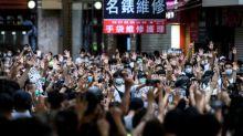 Democracy activist Joshua Wong says world must 'stand with Hong Kong'