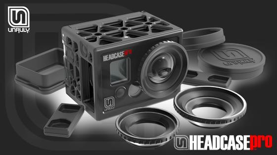 Insert Coin: UNRULY Headcase, wants to make your GoPro less 'so so'