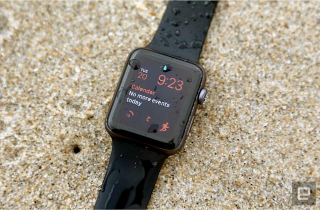 Smartwatch shipments dropped ahead of new models